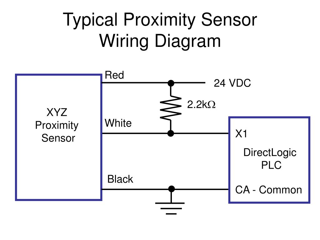 hight resolution of ppt typical proximity sensor wiring diagram powerpoint presentation id 6729640