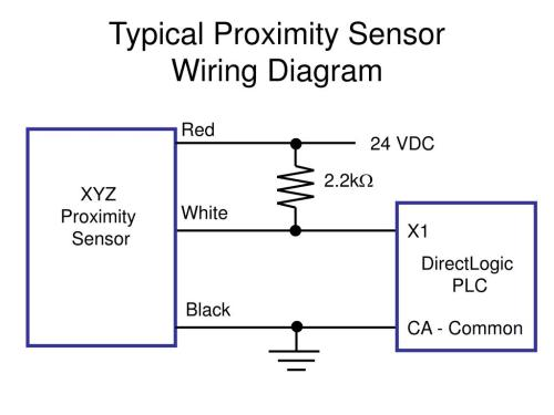 small resolution of ppt typical proximity sensor wiring diagram powerpoint presentation id 6729640