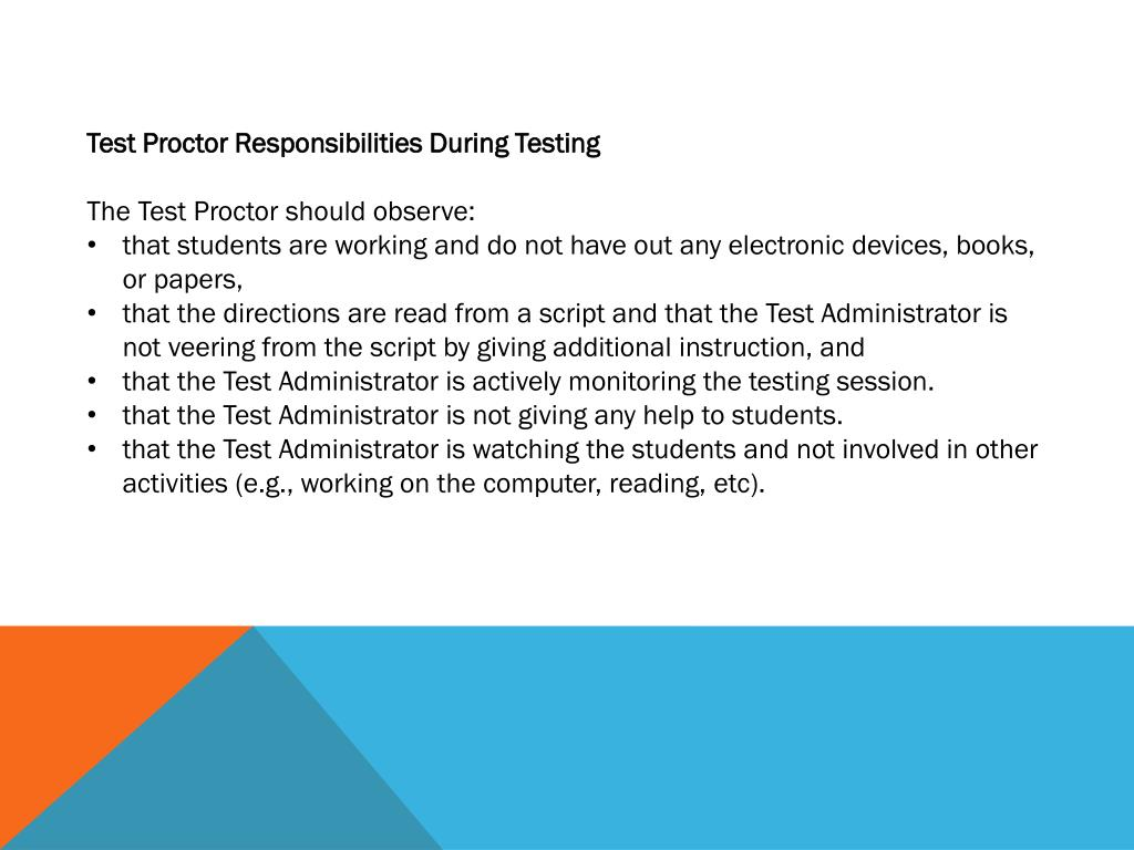 PPT - 2014 EOI Test Proctor Training PowerPoint Presentation. free download - ID:6737504