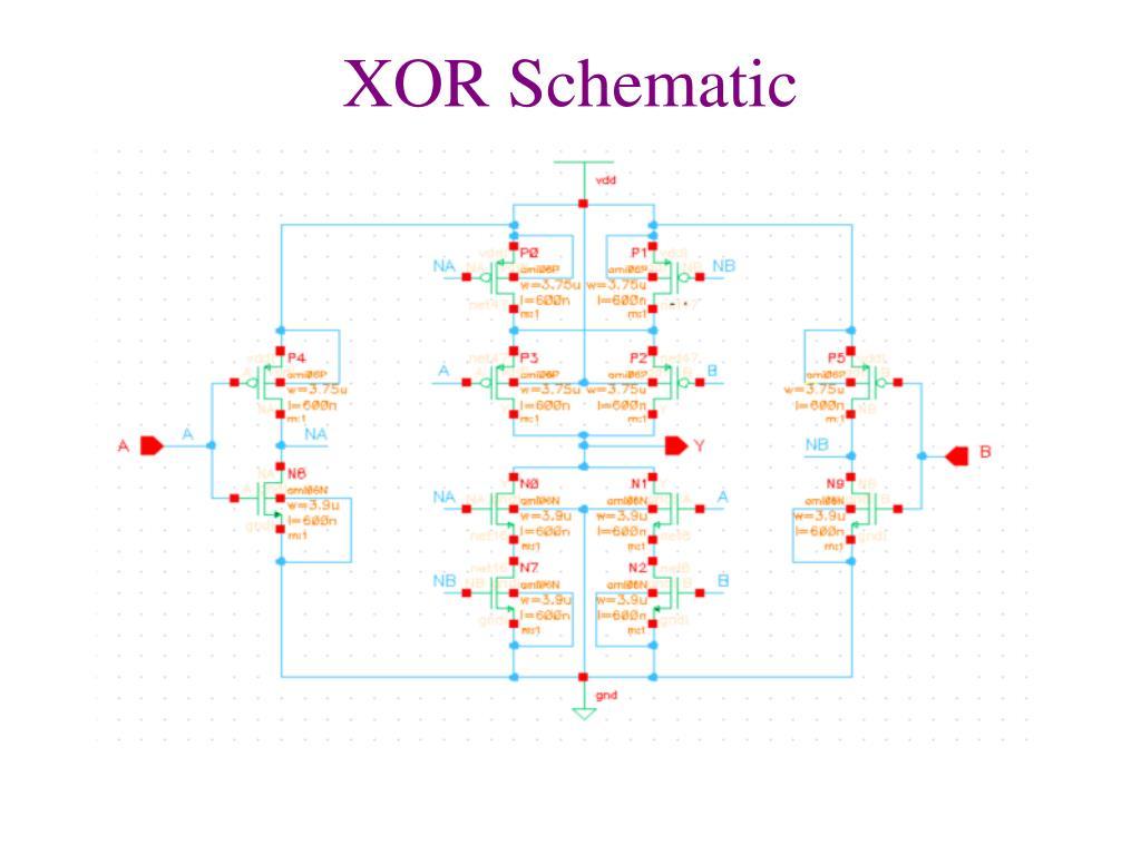 hight resolution of block diagram xor schematic