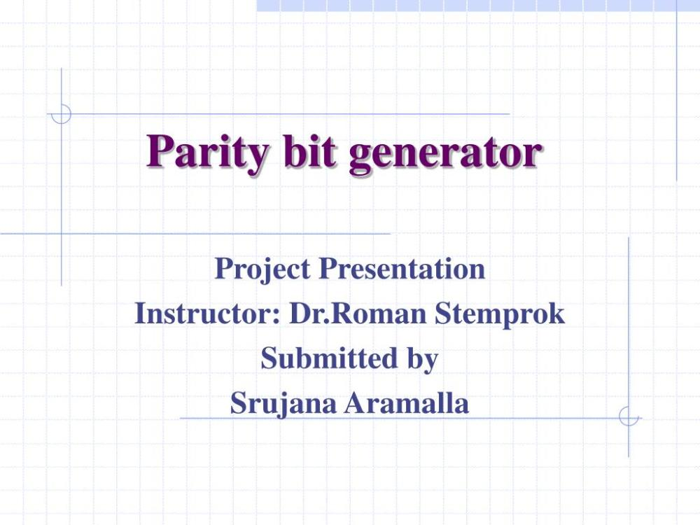 medium resolution of parity bit generator powerpoint ppt presentation