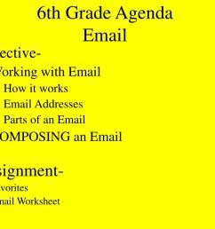 PPT - 6th Grade Agenda First Class PowerPoint Presentation [ 768 x 1024 Pixel ]