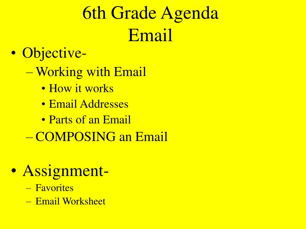 hight resolution of PPT - 6th Grade Agenda First Class PowerPoint Presentation