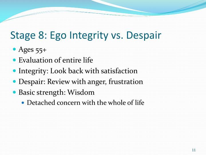 Vs Ego Integrity Despair 8