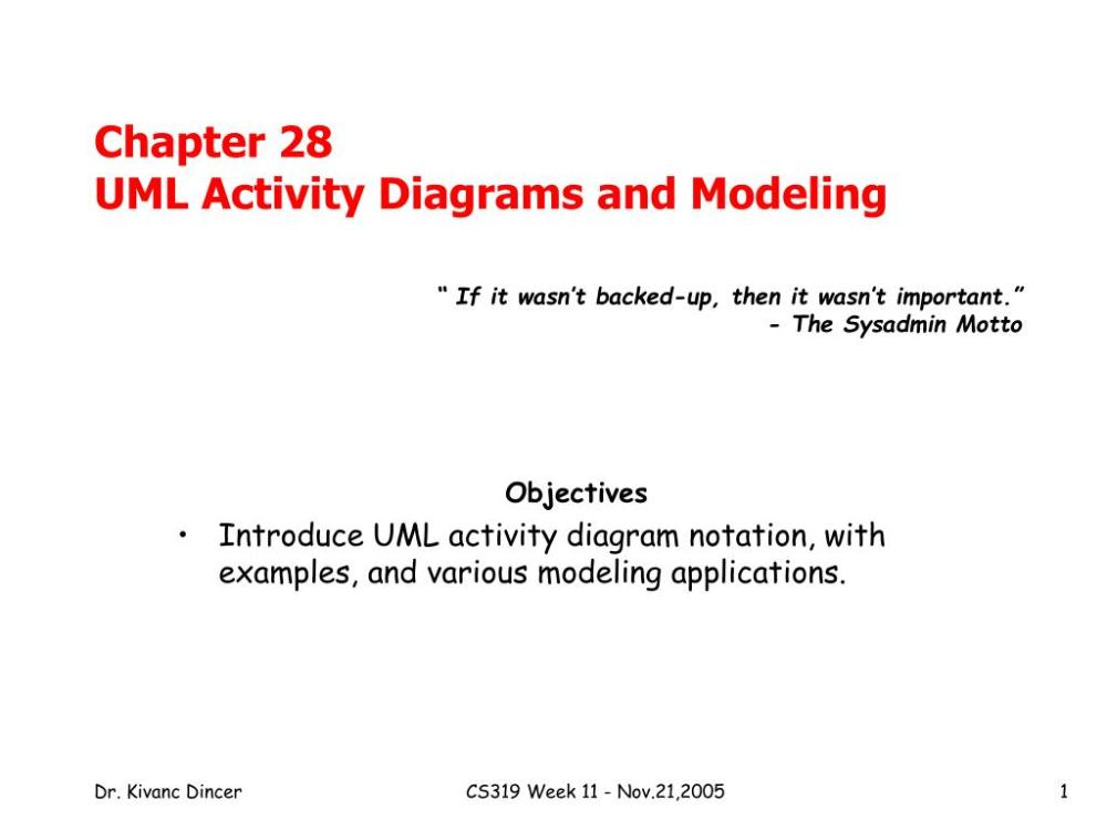 medium resolution of ppt chapter 28 uml activity diagrams and modeling powerpoint presentation id 6823226