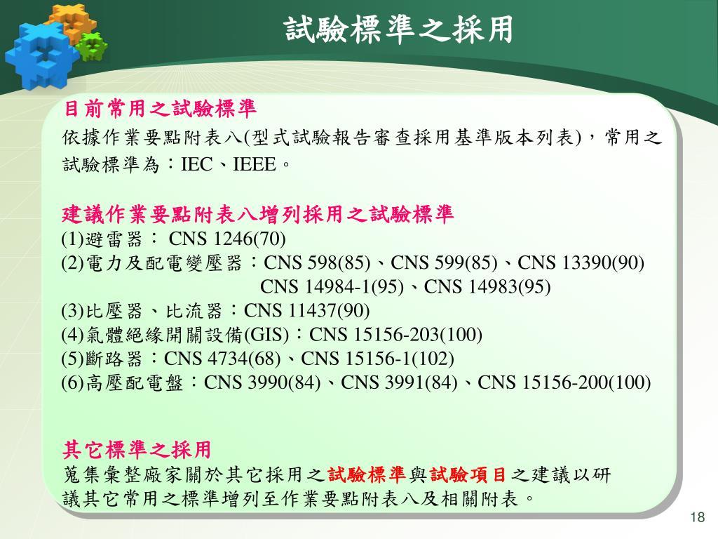 PPT - 高壓用電設備試驗作業要點 說明會 PowerPoint Presentation - ID:6870372