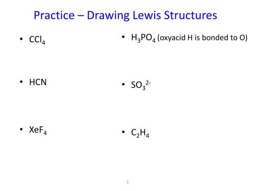 small resolution of drawing lewis dot diagram practice ppt bonding theories u2013 lewis theory powerpoint presentation