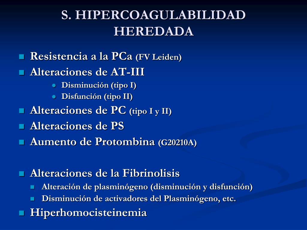 PPT - ESTADOS DE HIPERCOAGULABILIDAD CESAR GARCIA CASALLAS ...