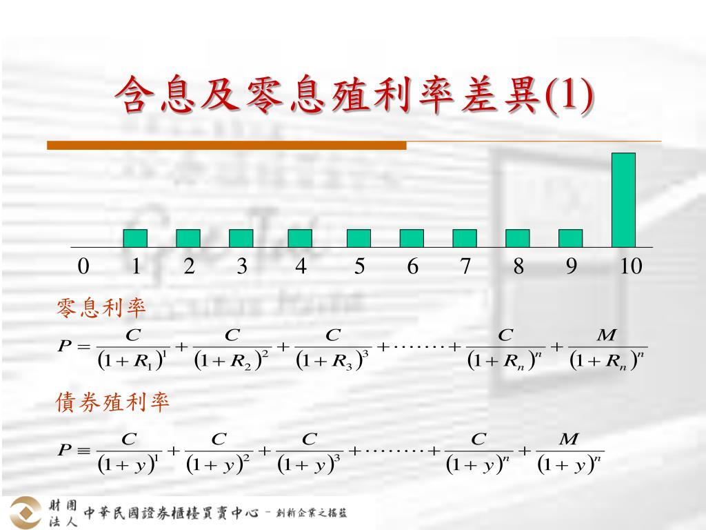 PPT - 公債公平價值之評價 與價格資訊揭露 PowerPoint Presentation - ID:7024899