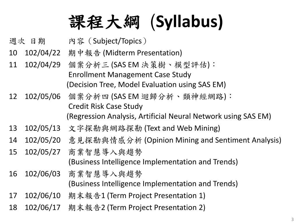 PPT - Business Intelligence Trends 商業智慧趨勢 PowerPoint Presentation - ID:7060403