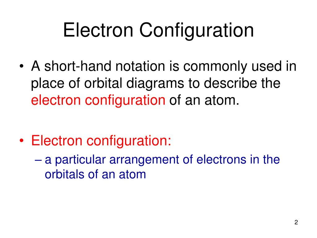hight resolution of ppt orbital diagrams and electron configuration powerpoint presentation id 7079563