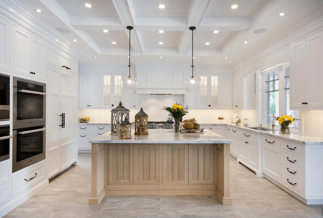 kitchen floors hardwood vs tile