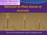 PPT - Plate Stands of Australia PowerPoint Presentation ...