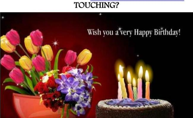 Ppt How To Make Your Happy Birthday Wishes Touching