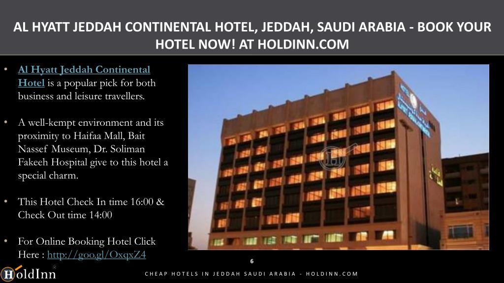 Ppt Cheap Hotels In Jeddah Saudi Arabia Holdinn Com