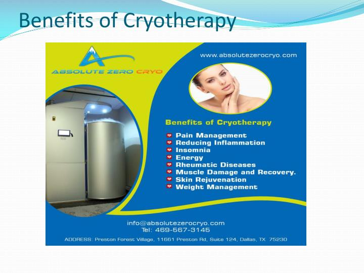 PPT - Cryotherapy Dallas - Absolute Zero Cryo PowerPoint ...