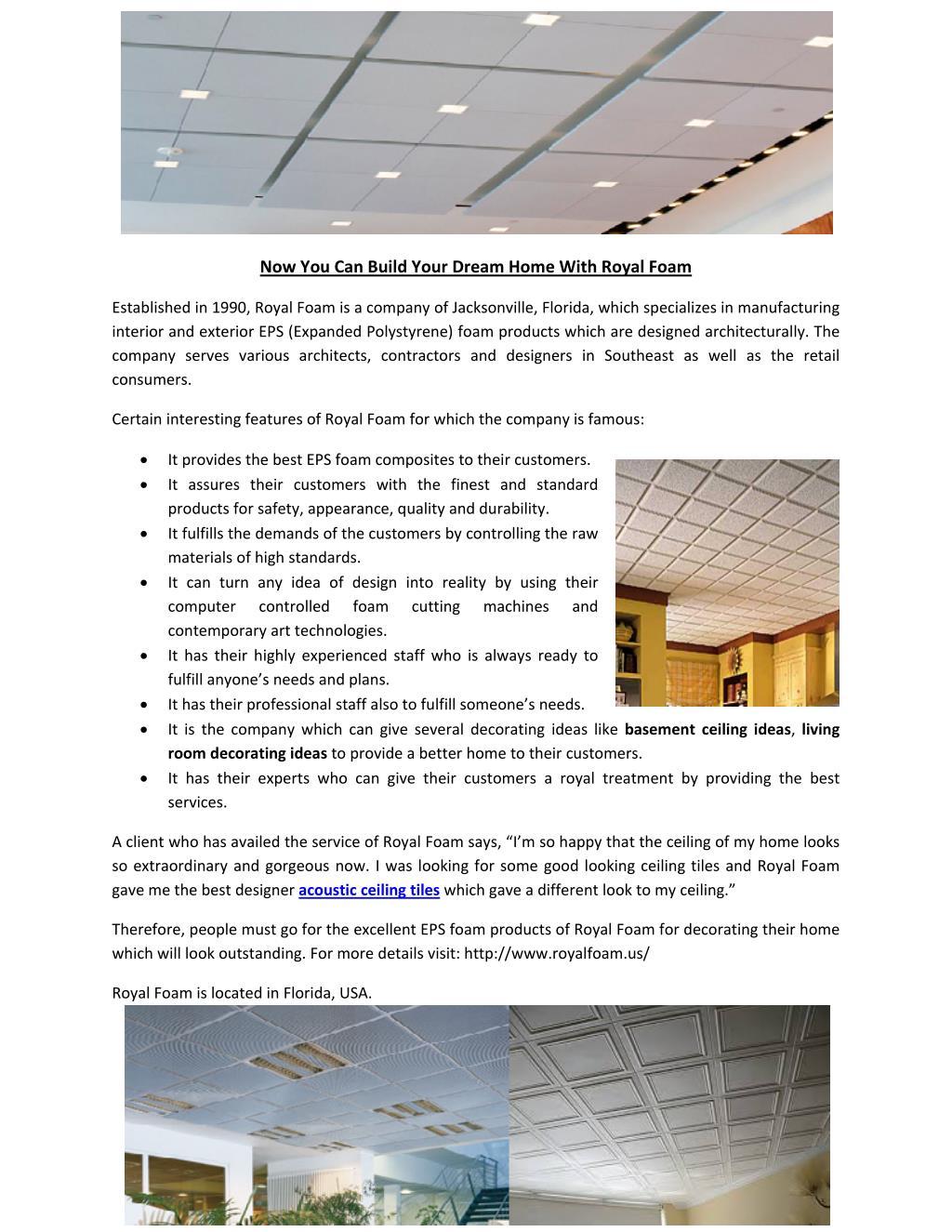 ppt acoustic ceiling tiles powerpoint