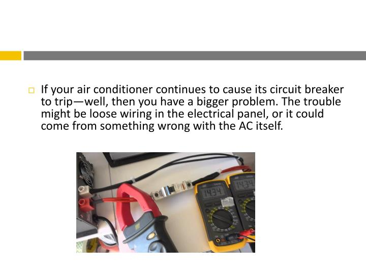 3 Reasons Your AC Is Tripping The Circuit Breaker3