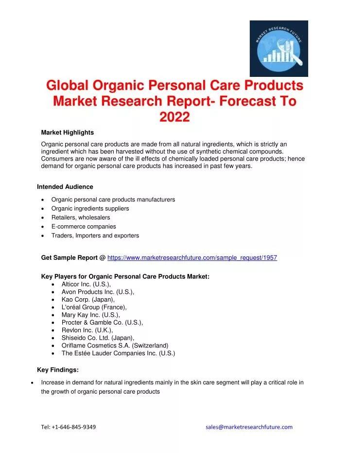 Natural Skin Care Market Research | Amtmakeup co