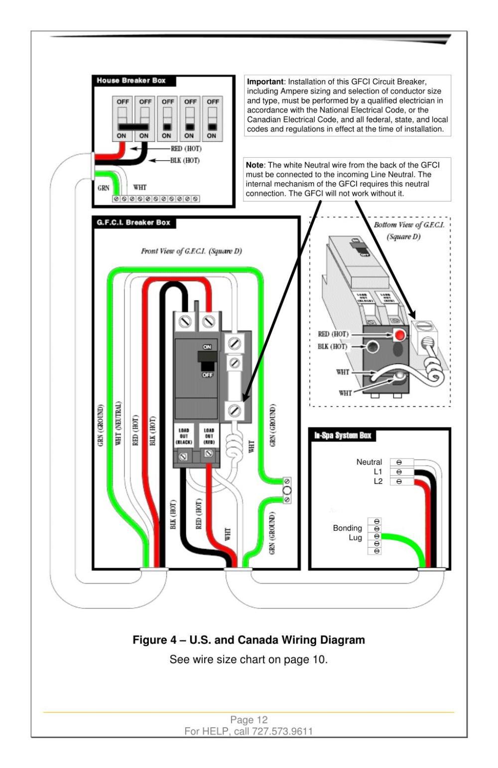 medium resolution of important installation of this gfci circuit breaker