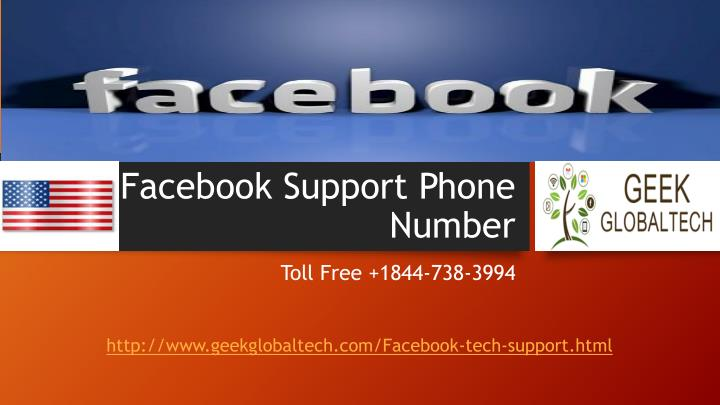 PPT  How to get awesome solution call 18447383994 Facebook Technical Support Number