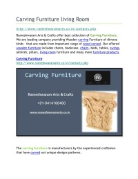 PPT - Carving Furniture living Room PowerPoint ...