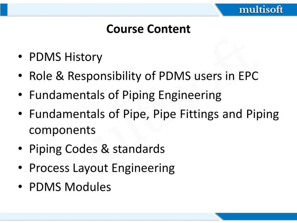 medium resolution of  of piping engineering fundamentals of pipe pipe fittings and piping components piping codes standards process layout engineering pdms modules