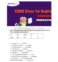 Preposition Time Practice Worksheet   Printable Worksheets and Activities  for Teachers [ 1325 x 1024 Pixel ]