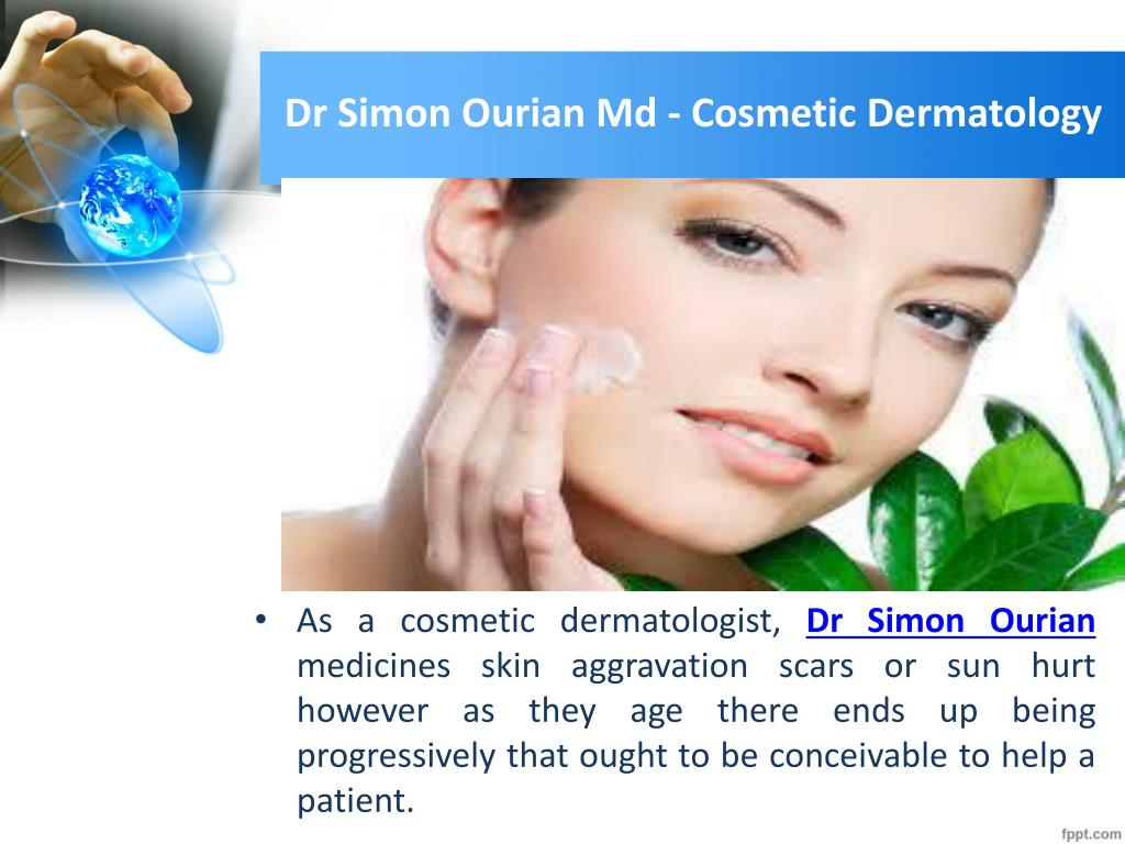 ppt cosmetic dermatology in