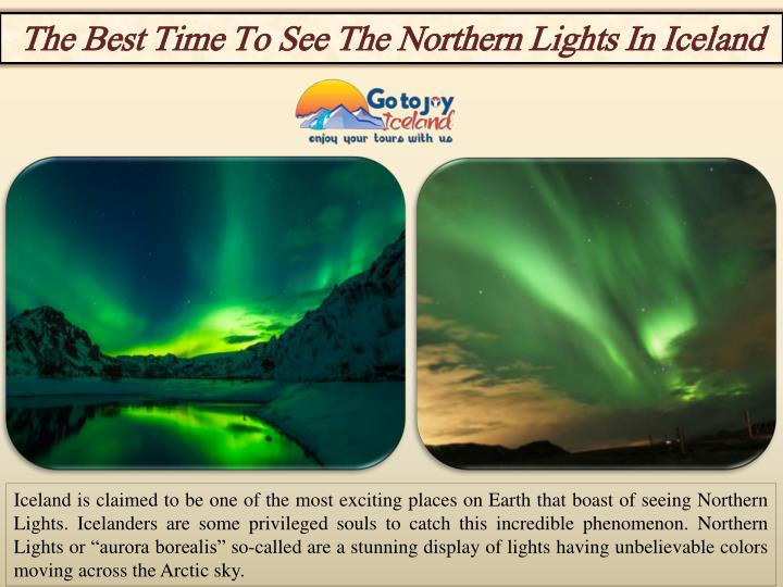 Best Time See Northern Lights Idaho