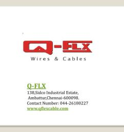 electrical control panel wiring qflx cable powerpoint ppt presentation [ 1024 x 768 Pixel ]