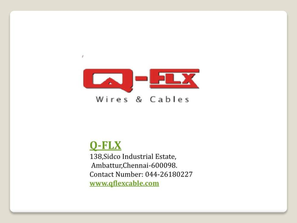 medium resolution of electrical control panel wiring qflx cable powerpoint ppt presentation