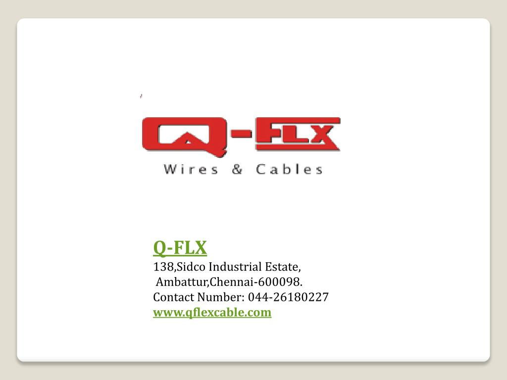 hight resolution of electrical control panel wiring qflx cable powerpoint ppt presentation