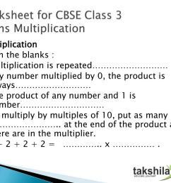 Cbse Class 3 Worksheet   Printable Worksheets and Activities for Teachers [ 768 x 1024 Pixel ]