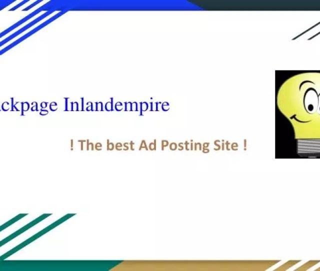 Backpage Inlandempire