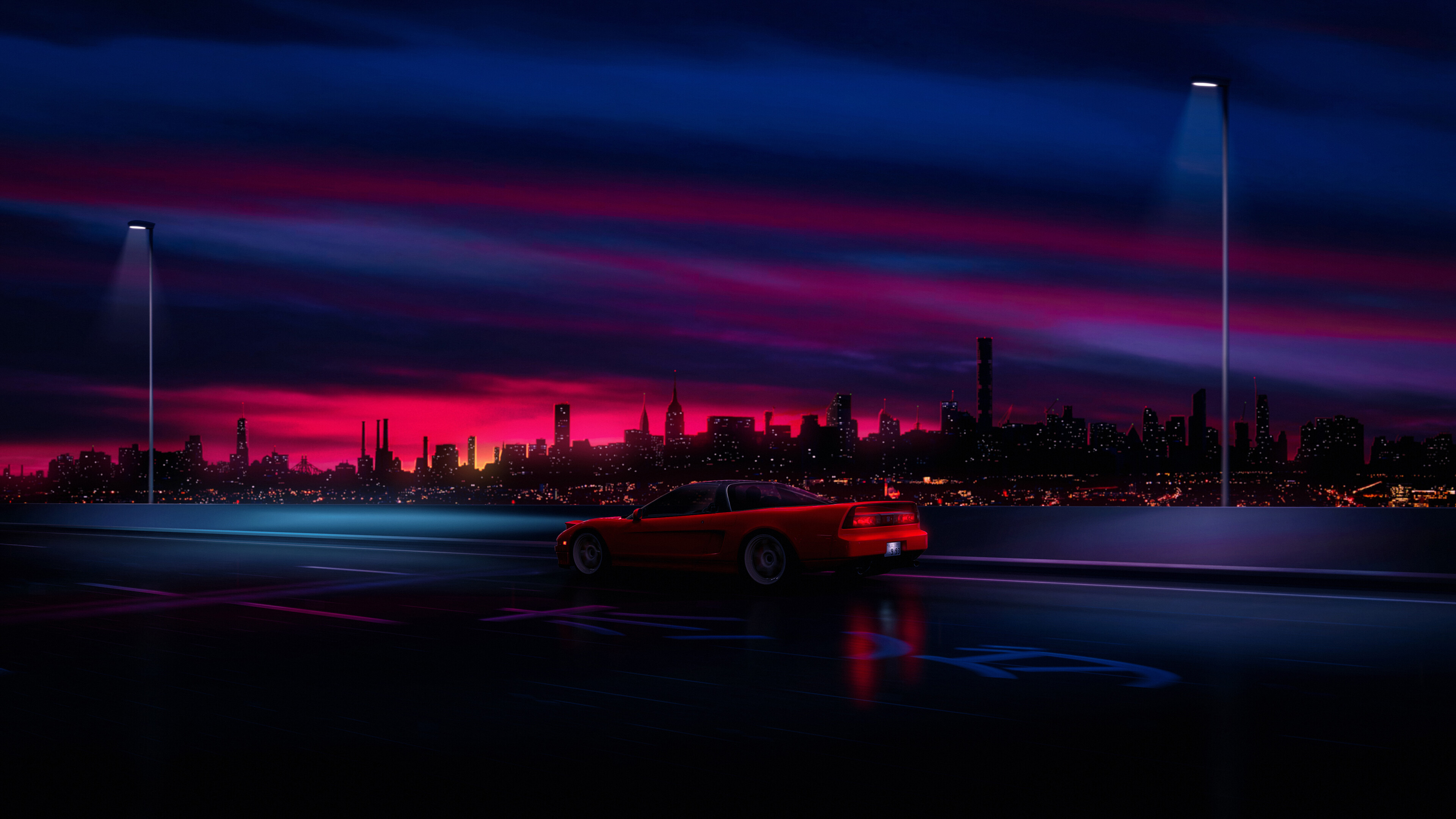 Over 40,000+ cool wallpapers to choose from. Night City Scenery Car 8k Wallpaper 4 1938