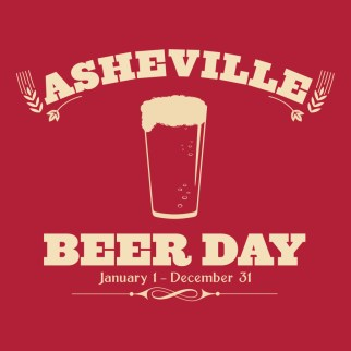 """""""Asheville Beer Day"""" by Ike Wheeless"""