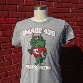 """""""Mascot"""" shirts. Available in our online store."""