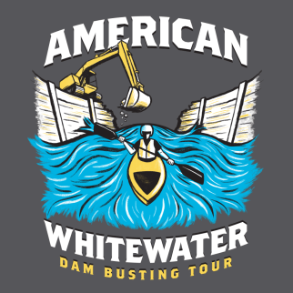 American Whitewater by Brent Baldwin