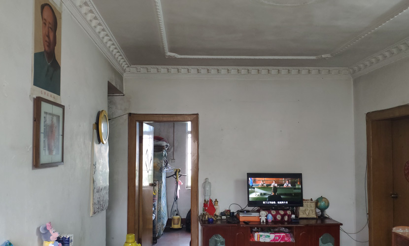 Inside Hu Pingsheng's home in Chenzhou, Hunan province, April 14, 2019. Fan Yiying/Sixth Tone