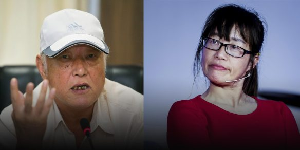 Image result for Two Poets' War of Words Shows China's Yawning Generation Gap