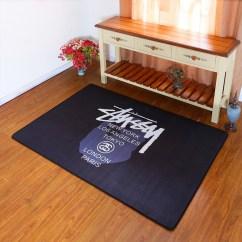 Black Kitchen Rugs Aid Convection Oven 象典 Xiangdian 系列 地毯卧室床边长方形可机洗个性创意拍照黑色欧式 地毯卧室床边长方形可机洗个性创意拍照黑色欧式厨房长条
