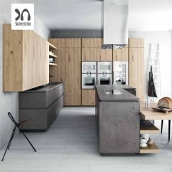 Kitchen Cabints Designer Faucets 厨房厨柜整体橱柜设计价格 厨房厨柜整体橱柜设计最新报价 厨房厨柜整体 岩板整体橱柜定做欧式木纹简约开放式厨房厨柜装修石英
