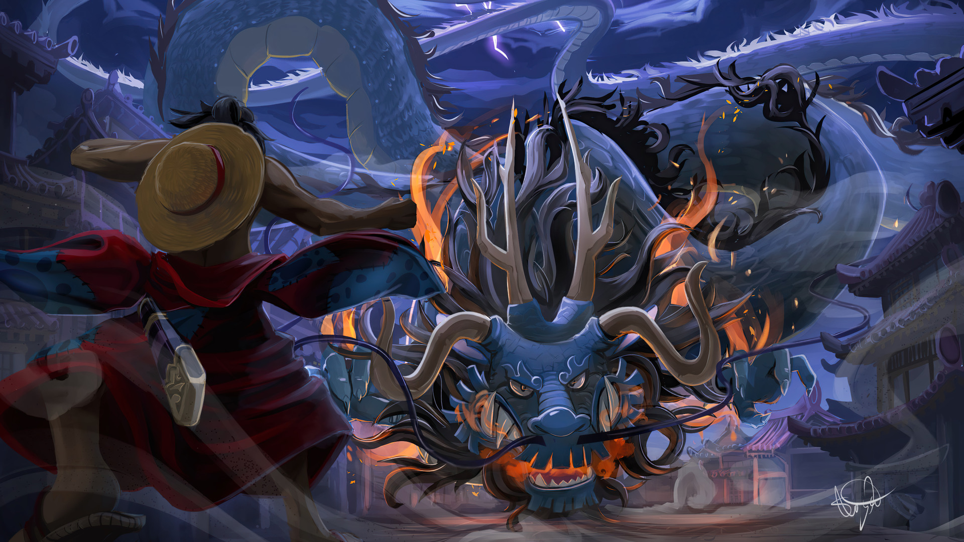 16/12/2020· don't forget to bookmark wallpaper one piece luffy 4k using ctrl + d (pc) or command + d (macos). Luffy Vs Kaido Dragon Form One Piece 4k Wallpaper 6 788