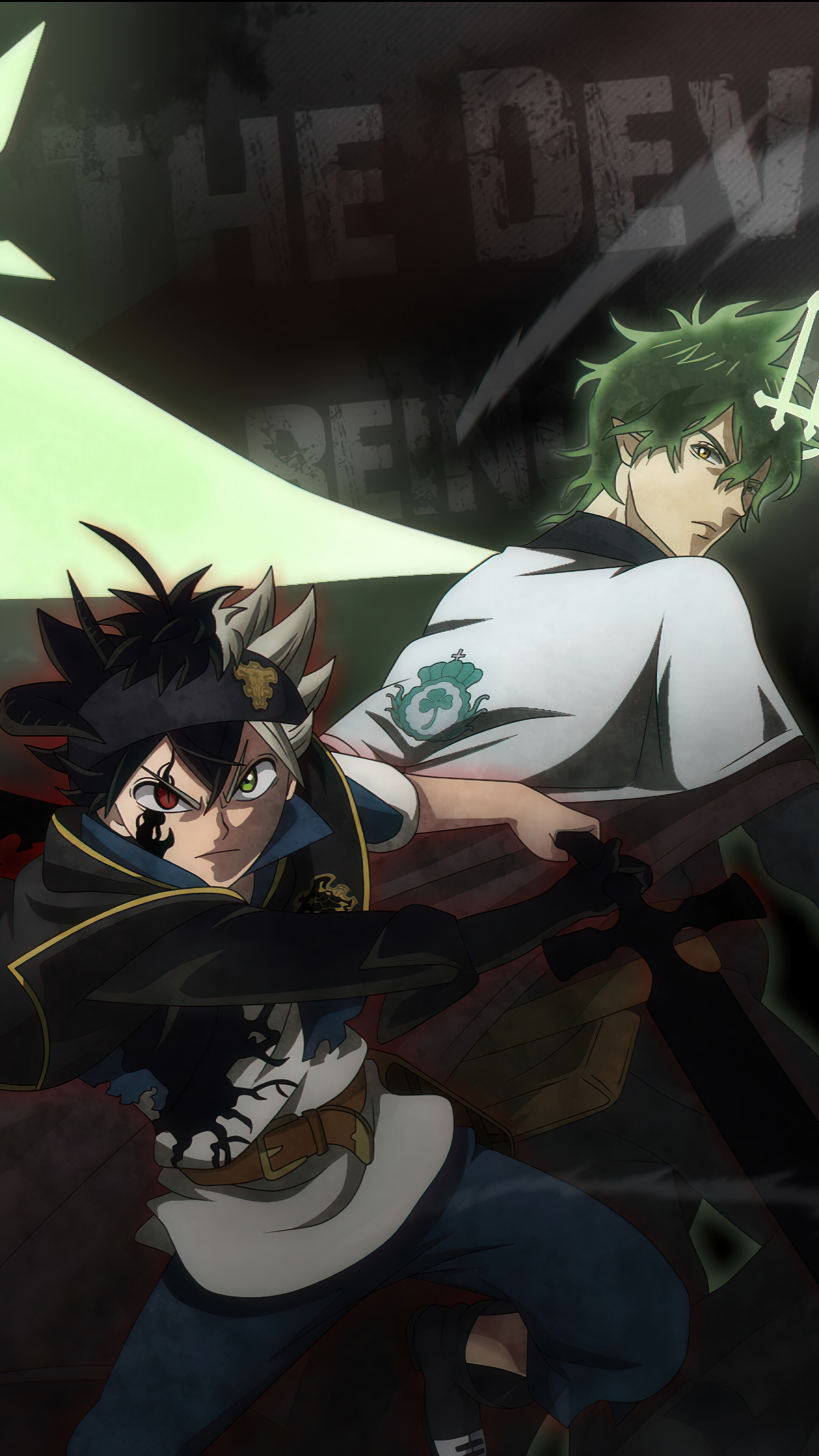 Demon slayers, blue and red. Black Clover Wallpaper Hd Asta And Yuno - Gambar Ngetrend ...