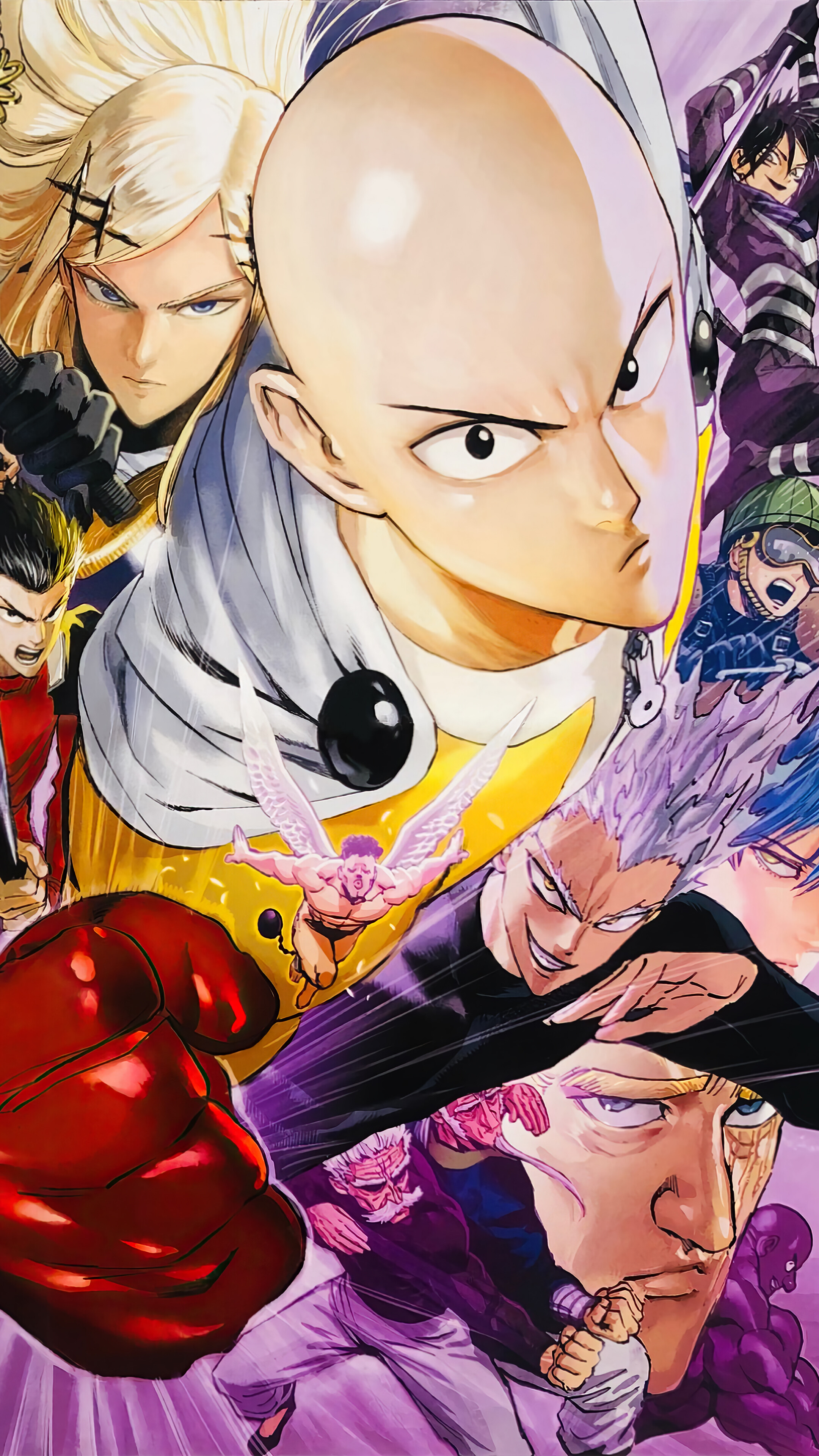 One Punch Man Classe S : punch, classe, Punch, S-Class, Anime, Characters, Wallpaper, #6.801