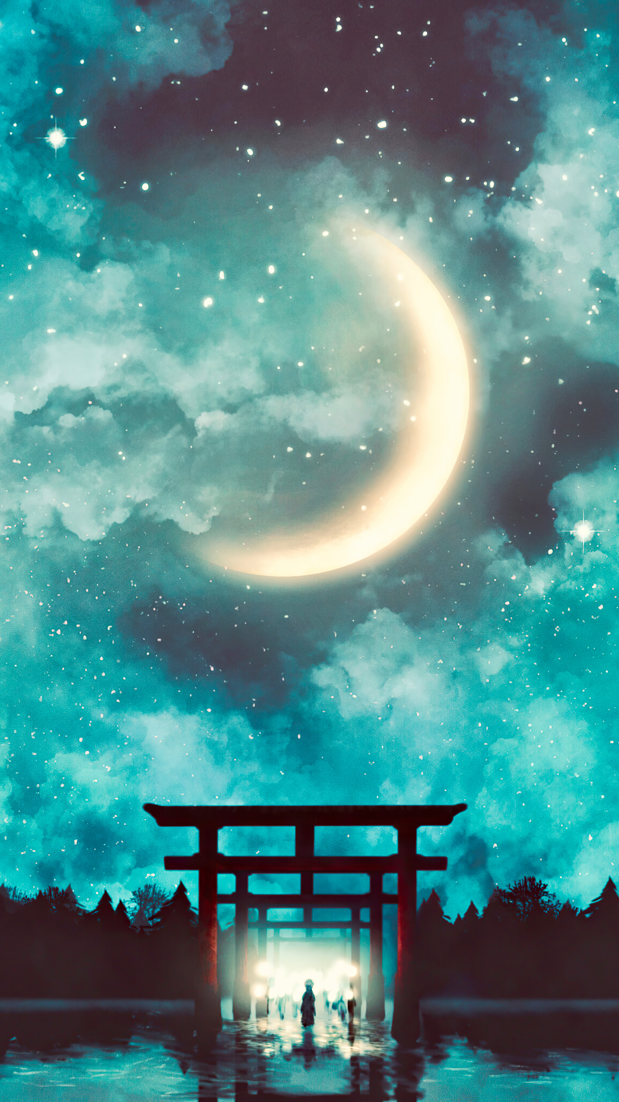 Anime Scenery Wallpaper 4k Phone Anime Nature Aesthetic Wallpapers On Wallpaperdog We Hope You Enjoy Our Growing Collection Of Hd Images