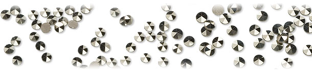 Marcasite Faceted Gems
