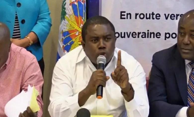 Jovenel Moise ne pourra pas aller prononcer son discours aux Gonaives le 1er janvier 2021, défend l'opposition - André Michel, Jovenel Moïse