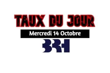 Haiti- Dollars/ Taux du jour affiché dans les banques pour ce 14 octobre 2020 -